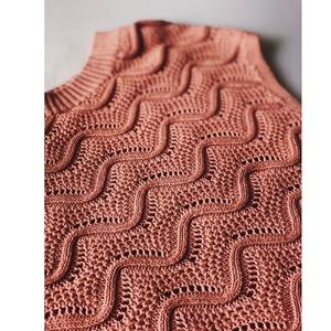 Ann Taylor Loft Salmon Pink Sweater.